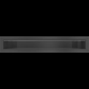 Kratka kominkowa LUFT SF czarny 6x40