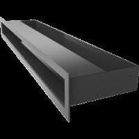 Kratka kominkowa LUFT SF czarny 6x60