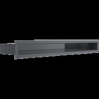 Kratka kominkowa LUFT SF grafitowy 6x60