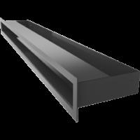 Kratka kominkowa LUFT SF czarny 6x80