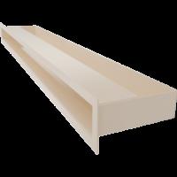 Kratka kominkowa LUFT SF kremowy 6x80