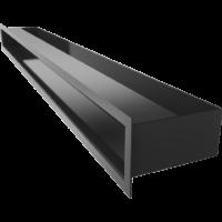Kratka kominkowa LUFT SF czarny 9x100