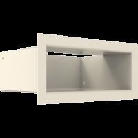 Kratka kominkowa LUFT SF kremowy 9x20