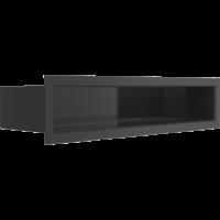 Kratka kominkowa LUFT SF czarny 9x40