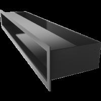 Kratka kominkowa LUFT SF czarny 9x60