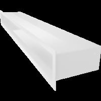 Kratka kominkowa LUFT SF biały 9x80