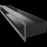 Kratka kominkowa LUFT SF czarny 9x80