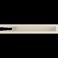 Kratka kominkowa LUFT SF narożny lewy kremowy 60x40x6
