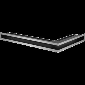 Kratka kominkowa LUFT narożny lewy szlif 60x40x6