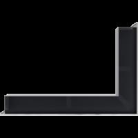 Kratka kominkowa LUFT narożny lewy szlif 60x40x9