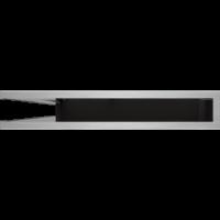 Kratka kominkowa LUFT narożny lewy szlif 76,6x54,7x9