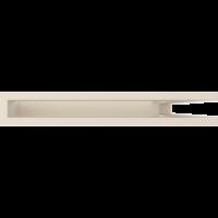Kratka kominkowa LUFT SF narożny prawy kremowy 40x60x6
