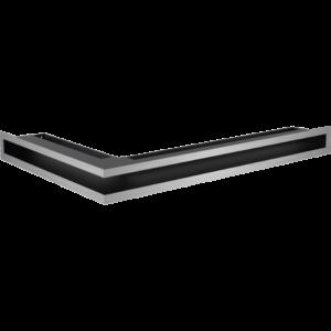 Kratka kominkowa LUFT narożny prawy szlif 40x60x6