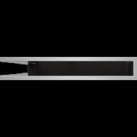 Kratka kominkowa LUFT SF narożny szlif 56x56x9