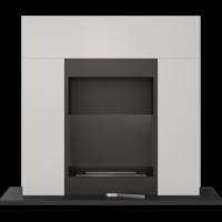 Biokominki portalowe WHISKEY 2 biały