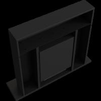 Biokominki portalowe WHISKEY 2 czarny