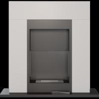 Biokominki portalowe WHISKEY biały